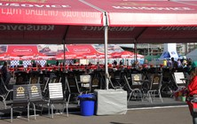 VIP tents IIHF Ice Hockey World Championship 2016